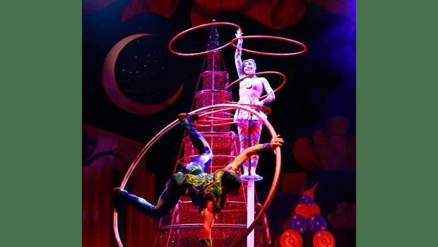 Cirque Holidaze Spinning Around