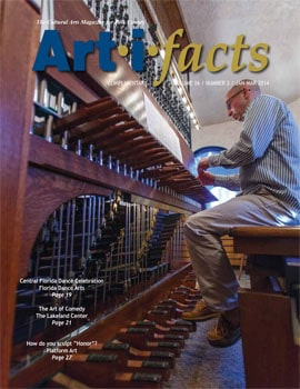 Photo of Geert de Hollander playing the Bok Tower Carillon taken by Mike Potthast.