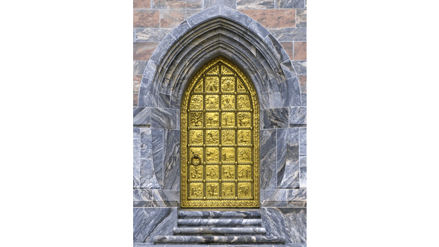 Bok Tower Door