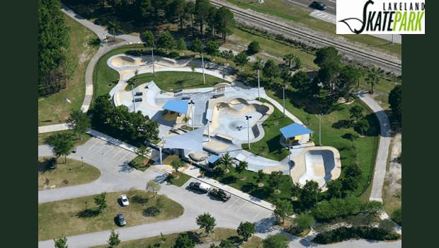 Lakeland Skate Park at Lake Bonny