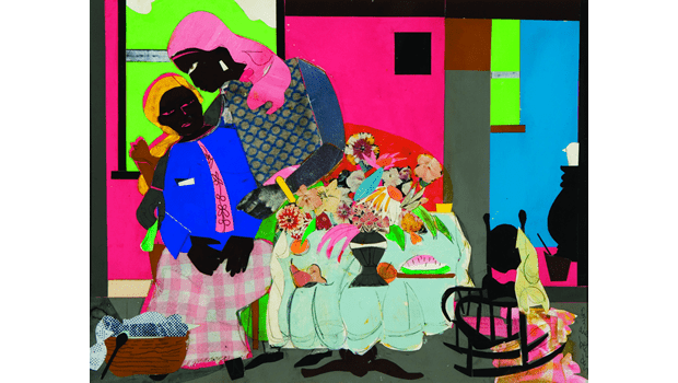 Romare Bearden, Morning, 1975