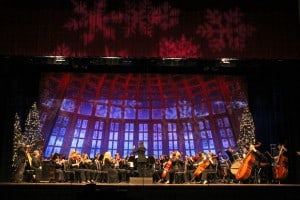 FSC Symphony Orchestra, Kira Omelchenko, conductor; Holiday Reflections: The Christmas Gala (12/5/14 - Rehearsal); Florida Southern College