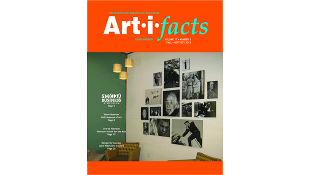 Art-i-facts Sep-Oct 2015 Cover