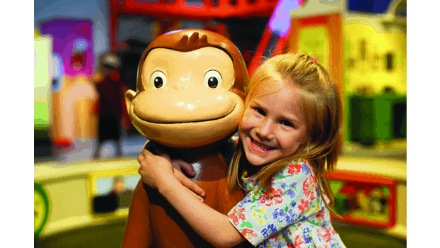 Curious George with Girl