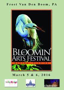 Bloomin Arts Ad