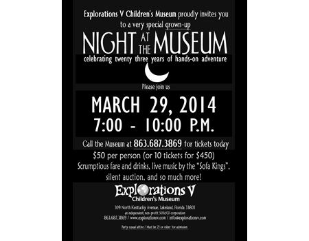 Grown-up Night at the Museum