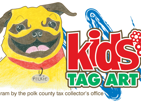 Kids Tag Art Dog