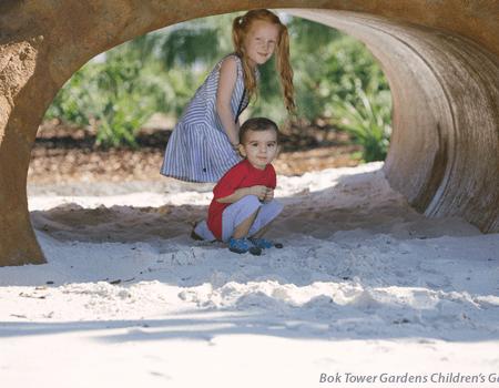 Hammock Hollow Children's Garden at Bok Tower Gardens