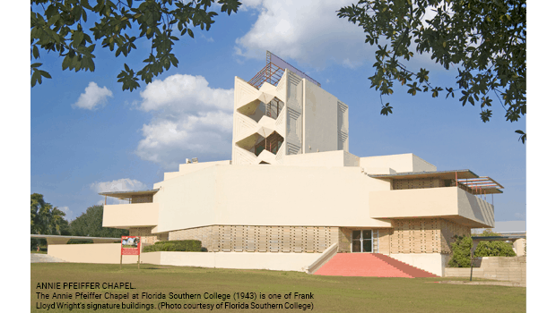 Annie Pfeiffer Chapel at Florida Southern College