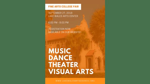 fine arts college fair polk arts