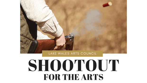 Shootout for the Arts, Sept 27, 2019 at the Florida FFA Leadership Training Center. A Lake Wales Arts Council Fundraiser for arts education programs.