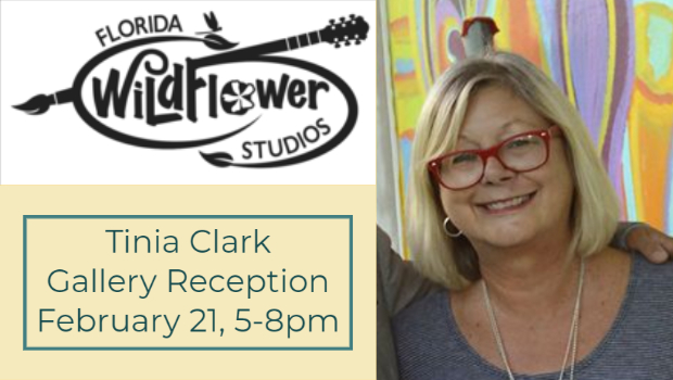 Tinia Clark Gallery Reception