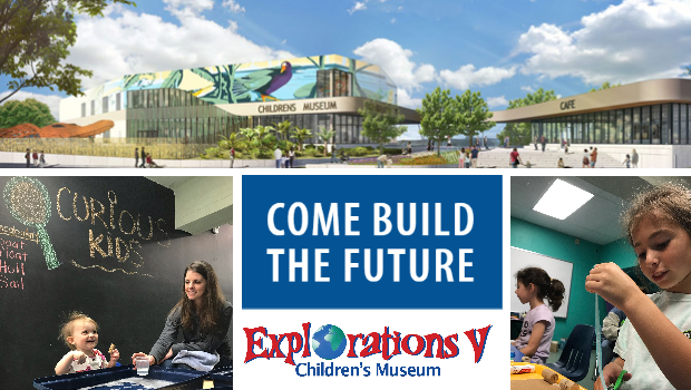Come Build the Future at Explorations V