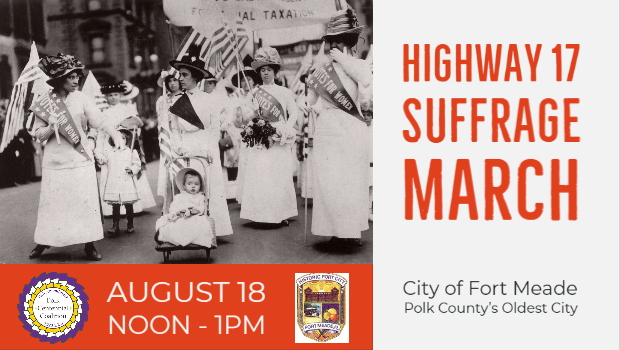 Highway 17 Suffrage March in Fort Meade