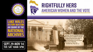 Rightfully Hers: American Women and the Vote