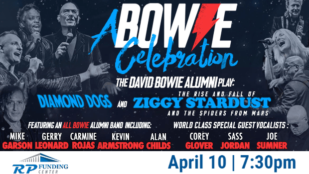 A Bowie Celebration Graphic