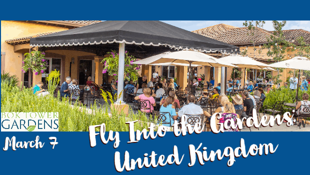 Fly Into the Gardens: United Kingdom