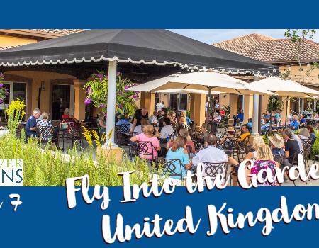 Fly Into the Gardens: United Kingdom