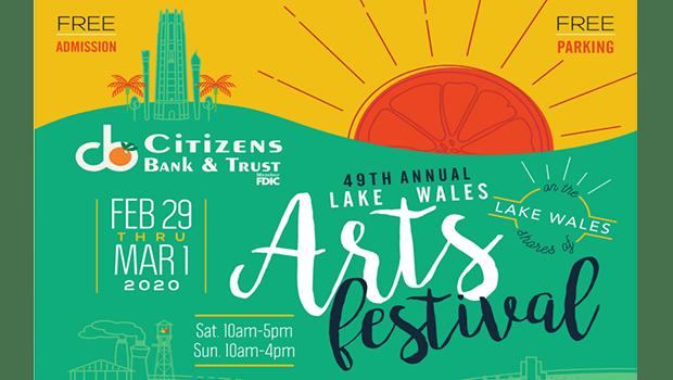 Lake Wales Arts Festival Graphic