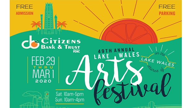 Lake Wales Arts Festival Graphic