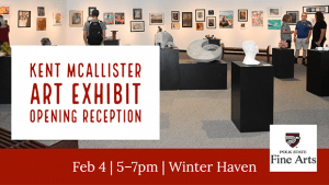 Kent McAllister Art Opening Reception