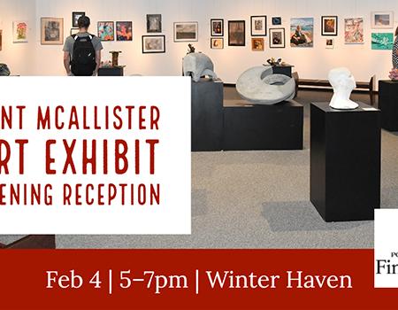 Kent McAllister Art Opening Reception