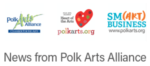 Polk Arts Alliance Logo, Heart of the Arts Logo (Pallette), Smart Business logo