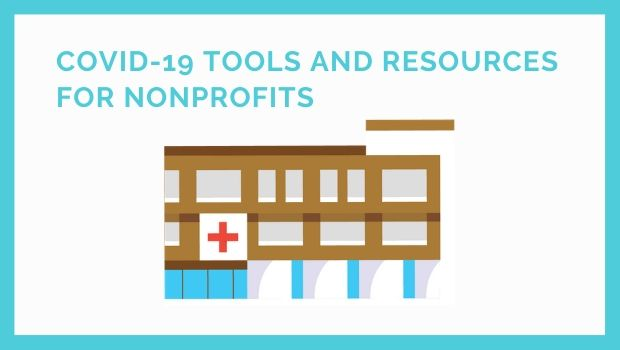 COVID-19 Tools and Resources for Nonprofits - picture of building with a red cross on it