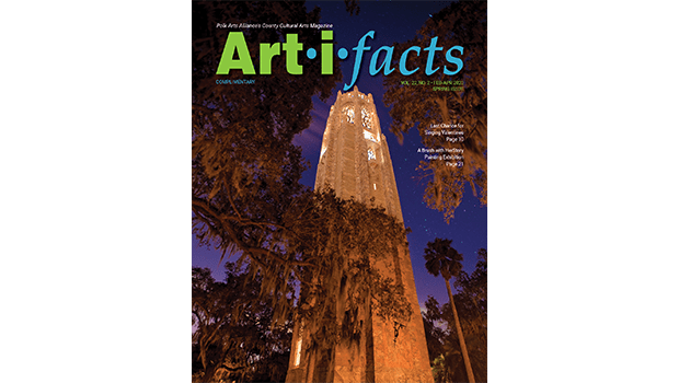 Art-i-facts Magazine Spring 2020, Bok Tower at night