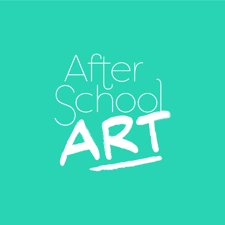 After School Art Aqua Background