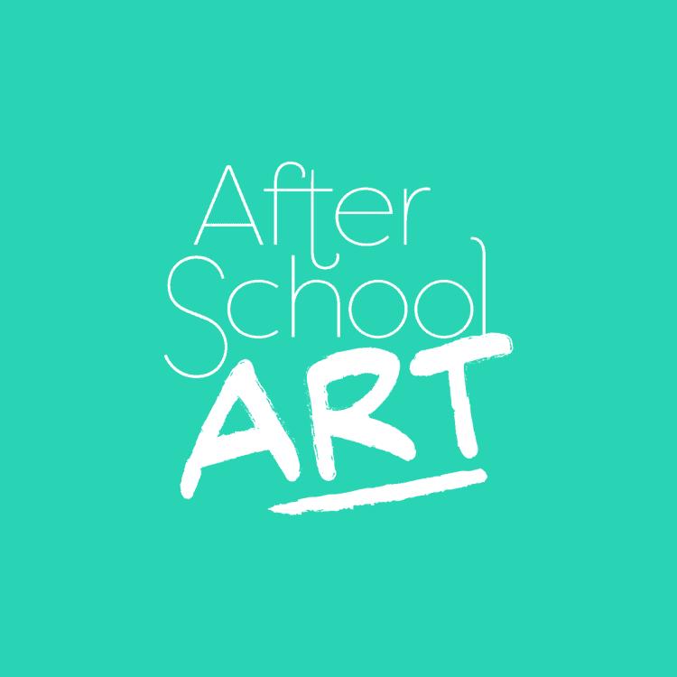 After School Art Aqua Background