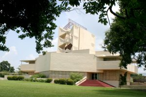 Annie Pfeiffer Chapel at Florida Southern College designed by Frank Lloyd Wright