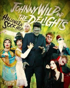 Johnny Wild and the Delights Halloween Sock Hop Cast