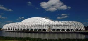 Innovation, Science and Technology (IST) Building at Florida Polytechnic University designed by Santiago Calatrava