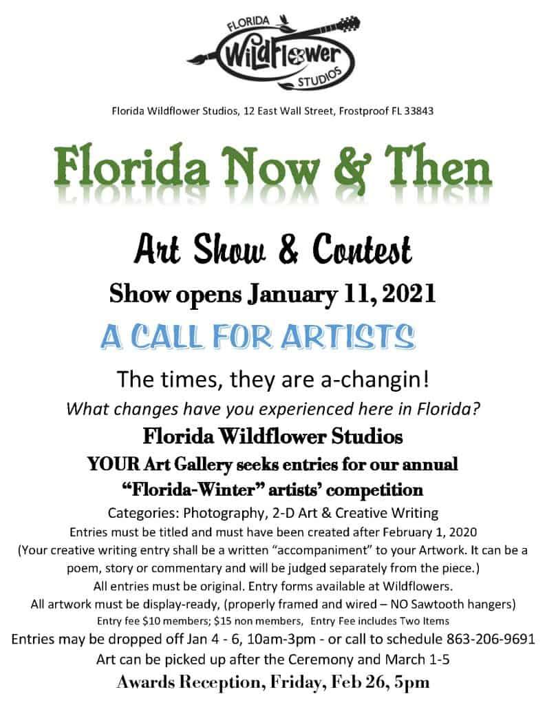 Florida Now & Then Art Show & Contest