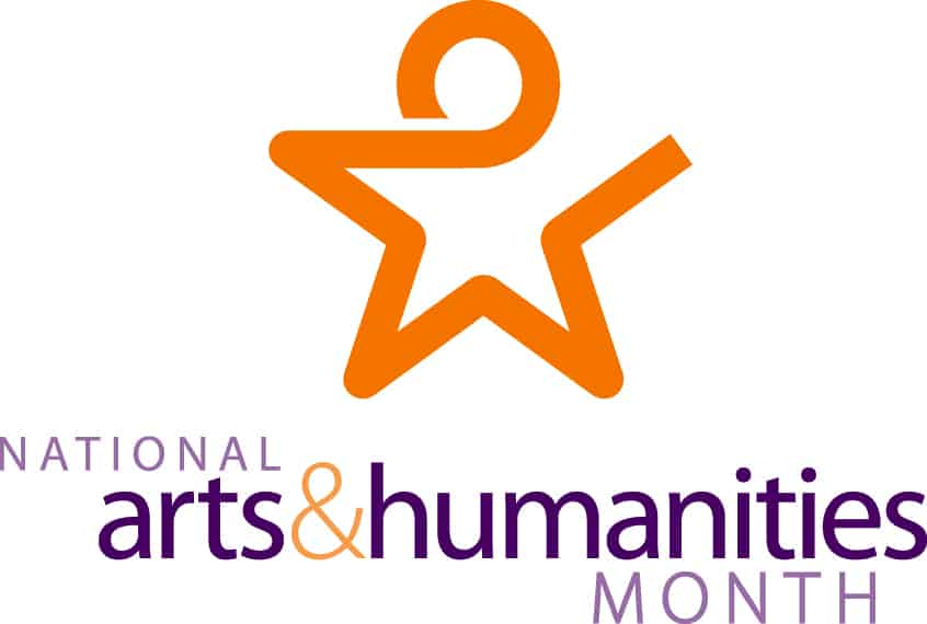National Arts & Humanities Month Star Logo