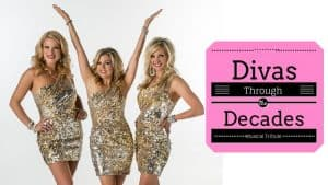 3 blondes - Text is Divas Through the Decades Musical Tribute