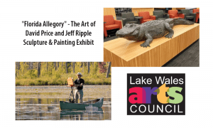 """Florida Allegory"" - The Art of David Price and Jeff Ripple - Sculpture & Painting Exhibit"