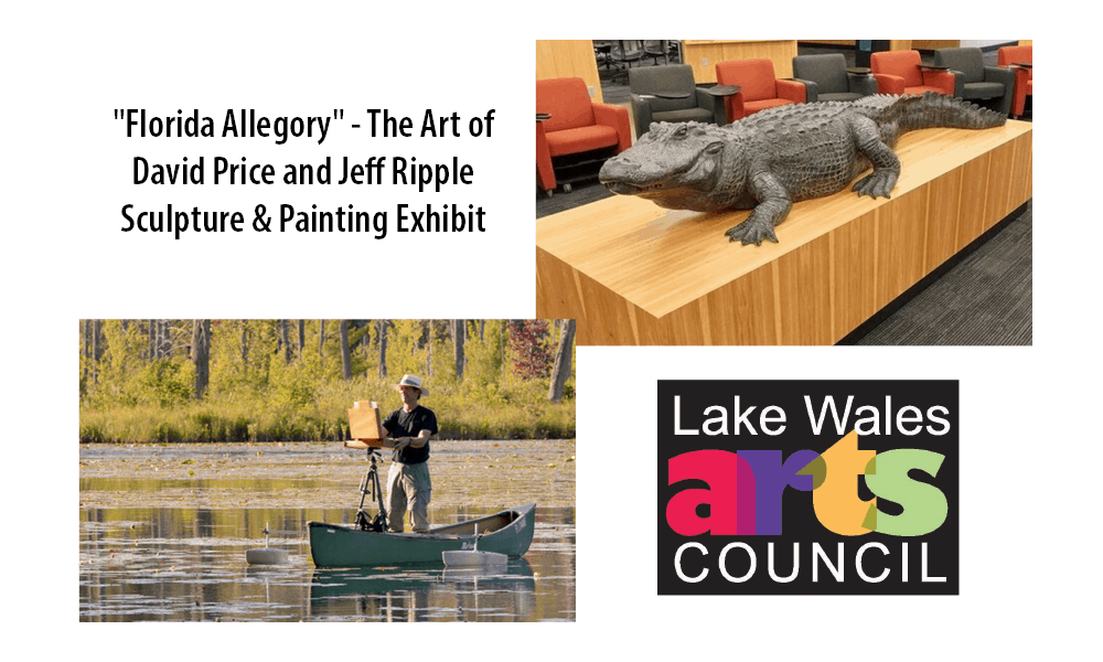 """""""Florida Allegory"""" - The Art of David Price and Jeff Ripple - Sculpture & Painting Exhibit"""
