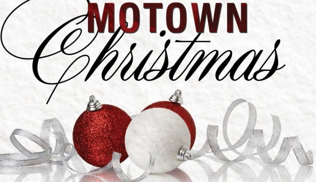 Motown Christmas - 2 red and 1 white ornament