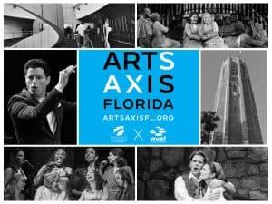 arts axis florida logo and photos