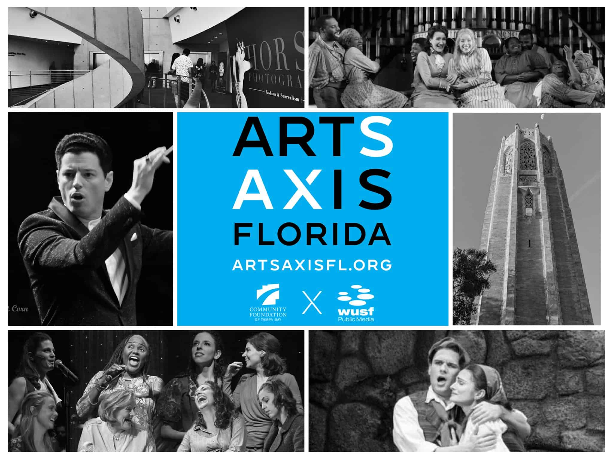 arts axis florida logo and photos