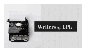 Old Typewriter - Writers at LPL