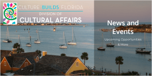 Florida Department of State Division of Cultural Affairs News & Events image of boats
