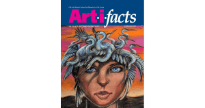 Front Cover of Art-i-facts Magazine Fall 2021