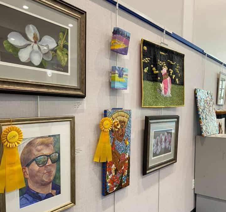 Lakeland Art Guild Artworks on display